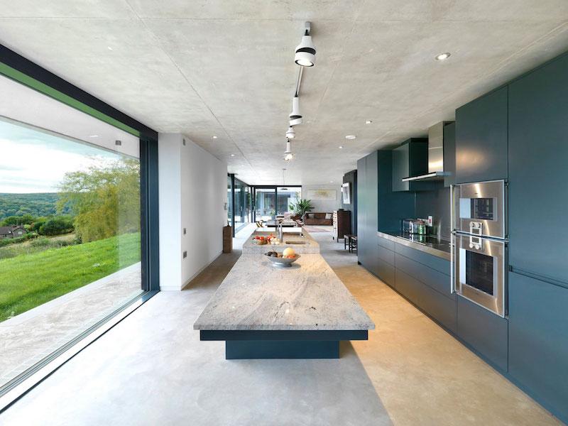 Inside Outside House Kitchen Design
