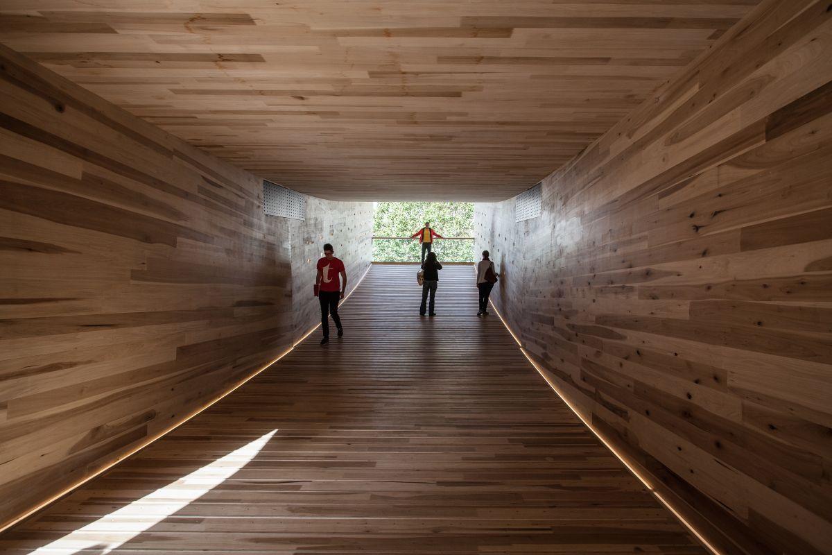 Interior of Modular landmark