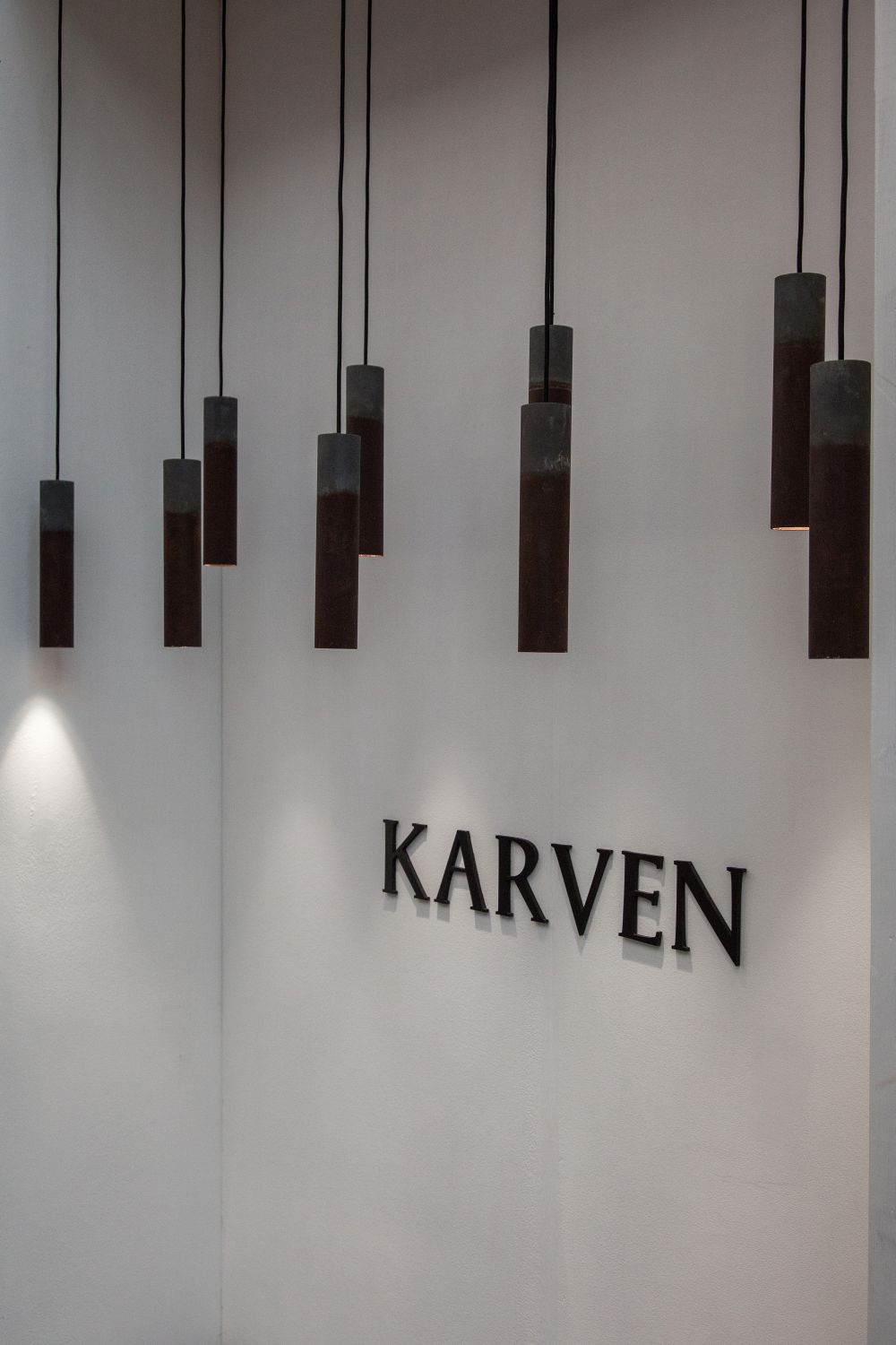 Karven Roest Pendant Light With Unfinished look
