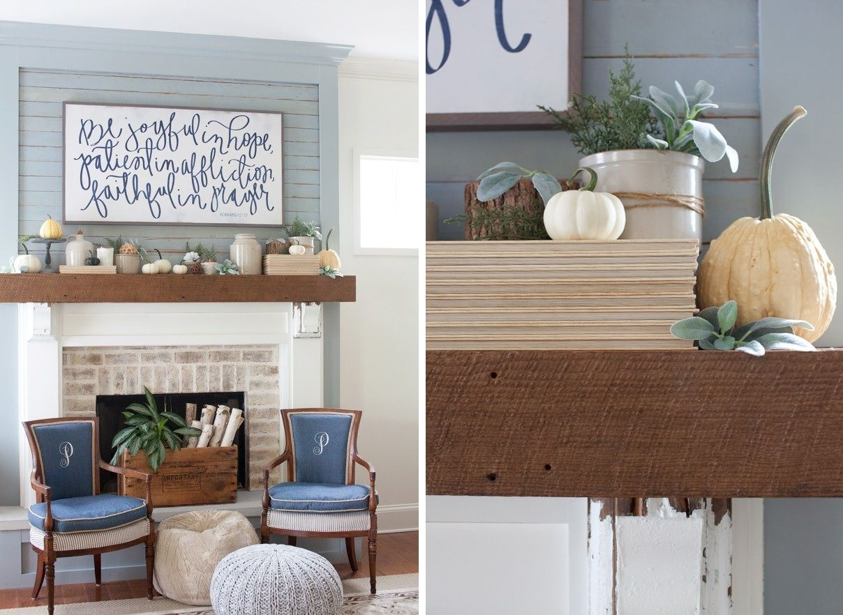 12 Ways To Decorate A Thanksgiving Mantel You Ll Be