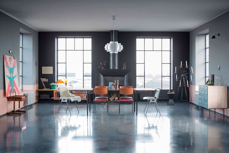 Designer Loft House In A Former Factory Tower