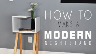 Stylish Crafts Made Easy – Modern DIY Nightstand Tutorial