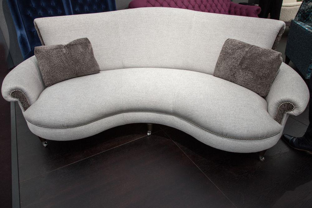 Matilda curved sofa