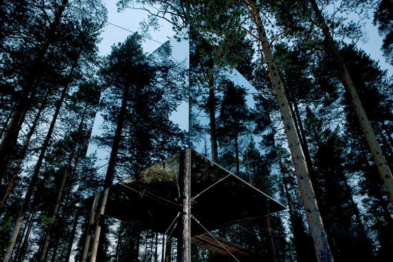 Microcube treehotel
