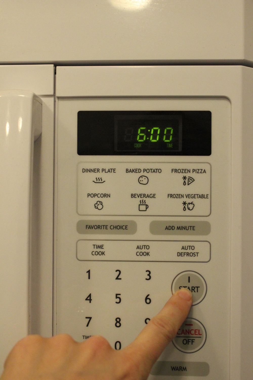 Microwave on high for 3-6 minutes