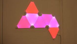 Aurora LED light panels from NanoLeaf