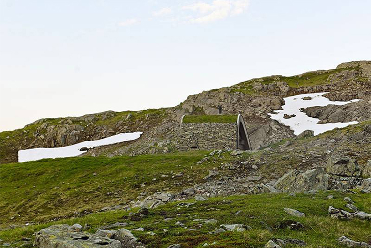 Norway Tiny Cabin Ground