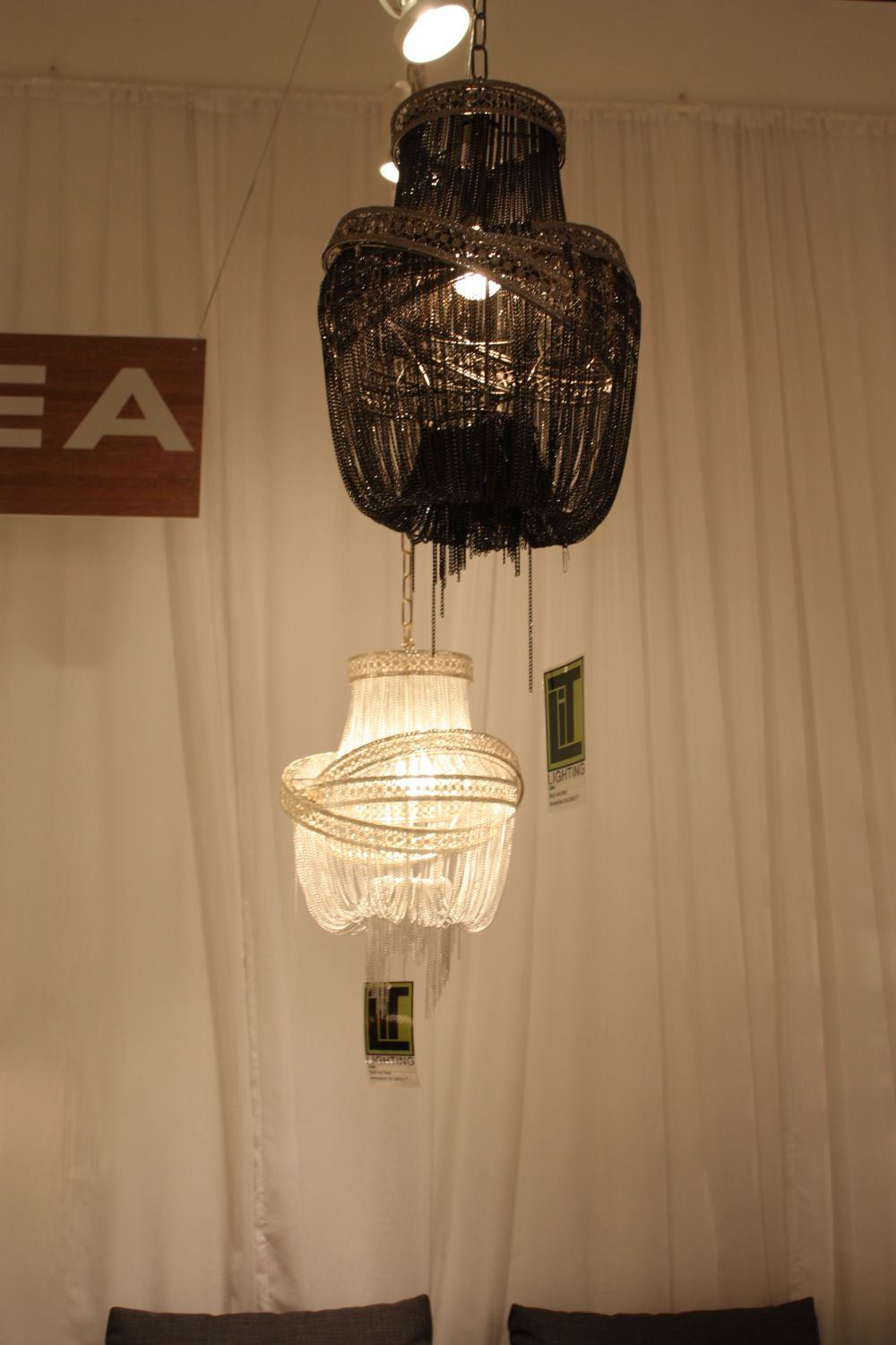 Add a bit of drama to your life with a black chandelier pangea home clara chandelier aloadofball Gallery