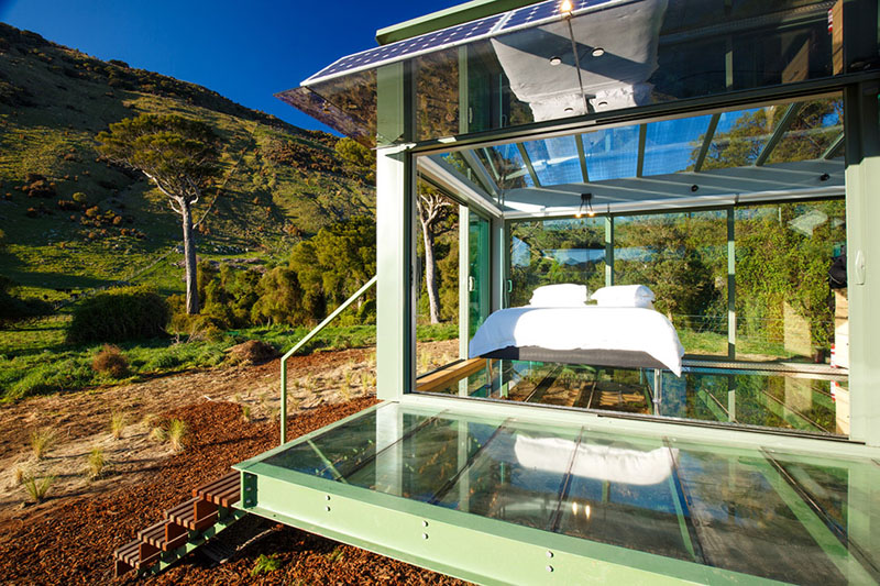 PurePods New Zealand - floor and solar panels