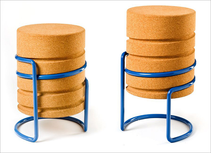 SCRW Hocker cork Stool