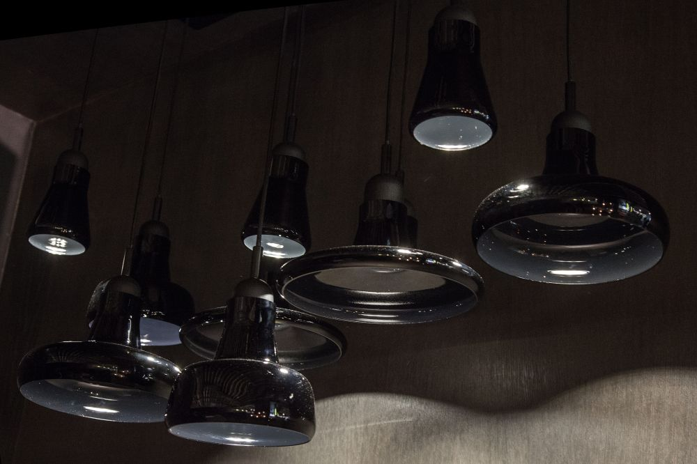 Shadow Glass Pendant Lights from Brokis