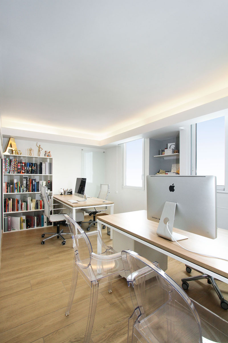 Sky in Every Room apartment home office
