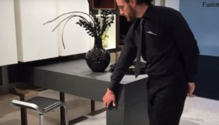 Kitchen in Motion – Push The Table Back To The Kitchen Side