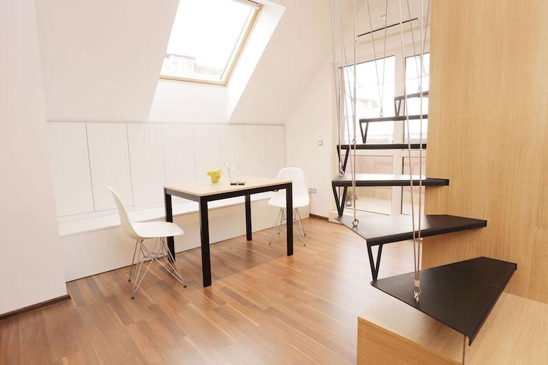 Sofia studio with dining nook