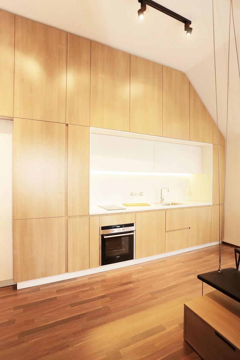Sofia studio with open kitchen