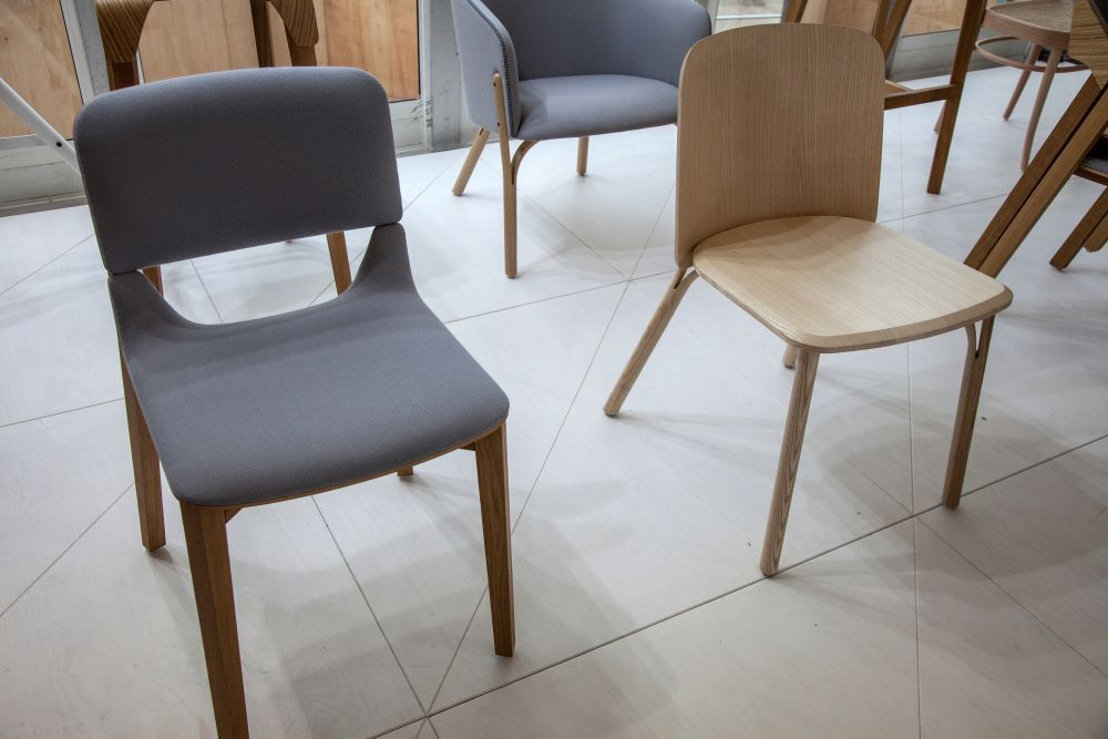 Split chair design from Ton