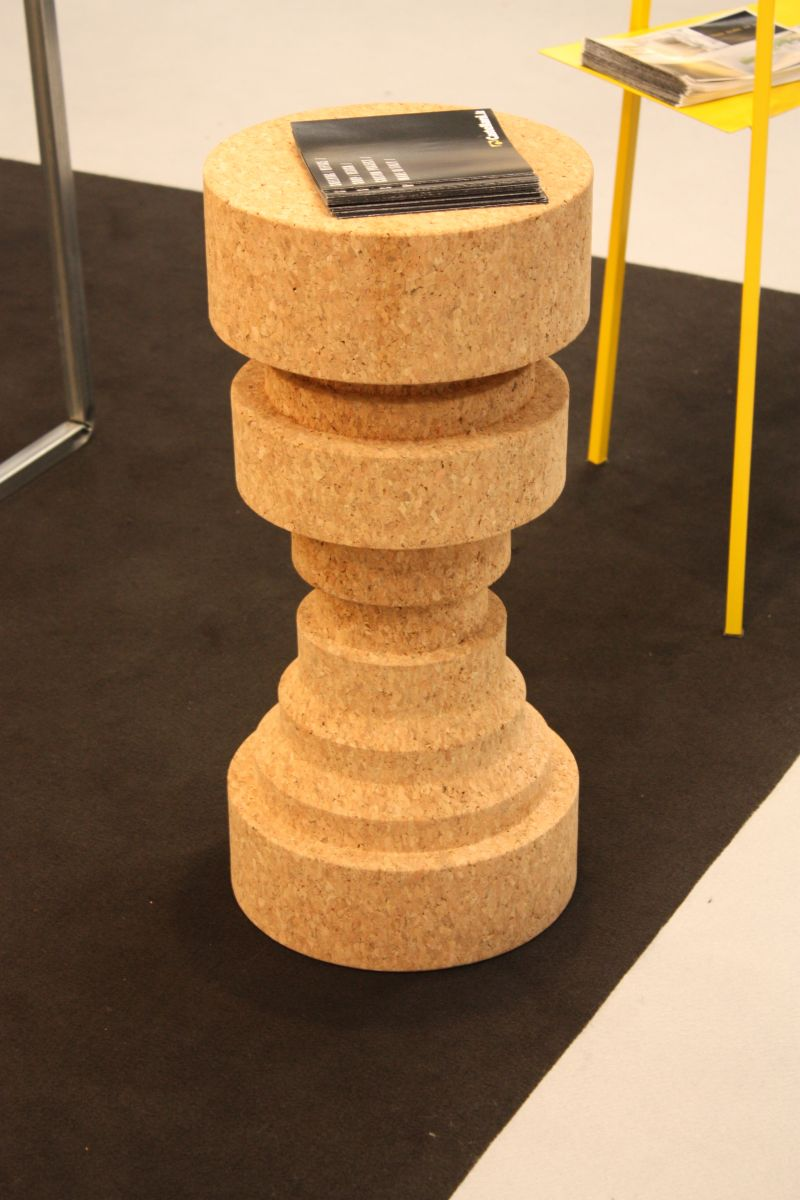 Tall cork stool