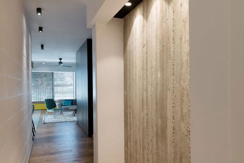 Tel Aviv apartment hallway