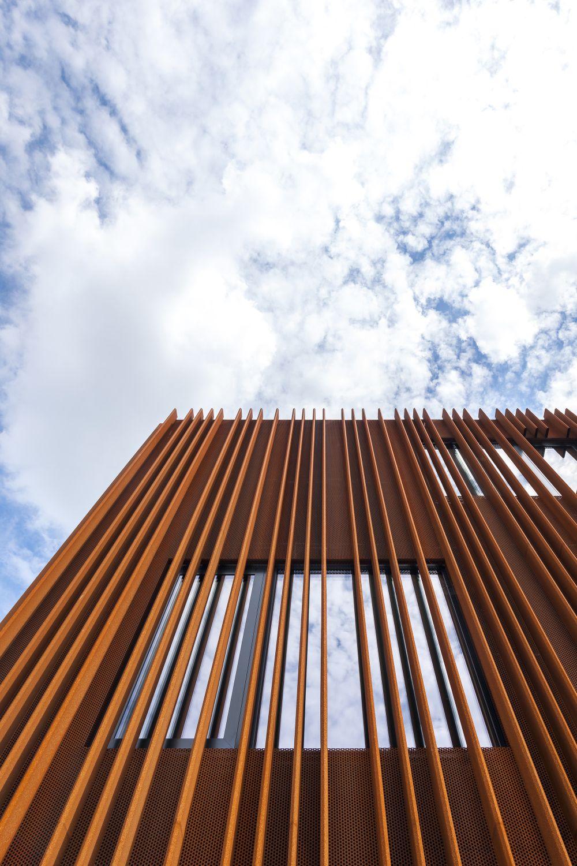 The Corten House by DMOA Architecten Sky