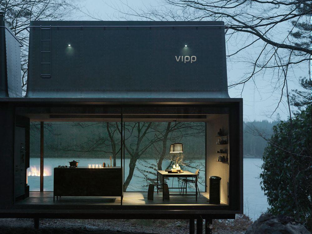 The Vipp Shelter kitchenn