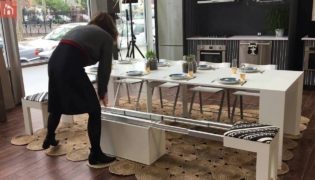 Expandable Stool You Can Turn Into A Bench In A Jiffy