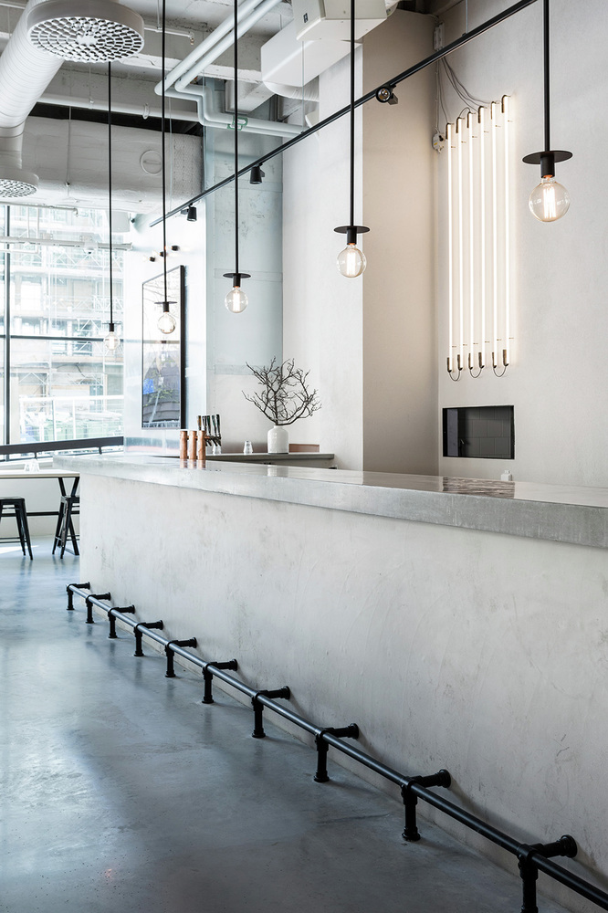 15 Stylish Kitchen Designs With Concrete Counter Highlights - Stylish Kitchen Designs