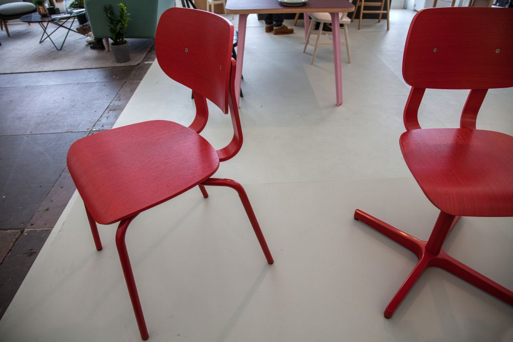 Very Good & Proper design Red Chairs
