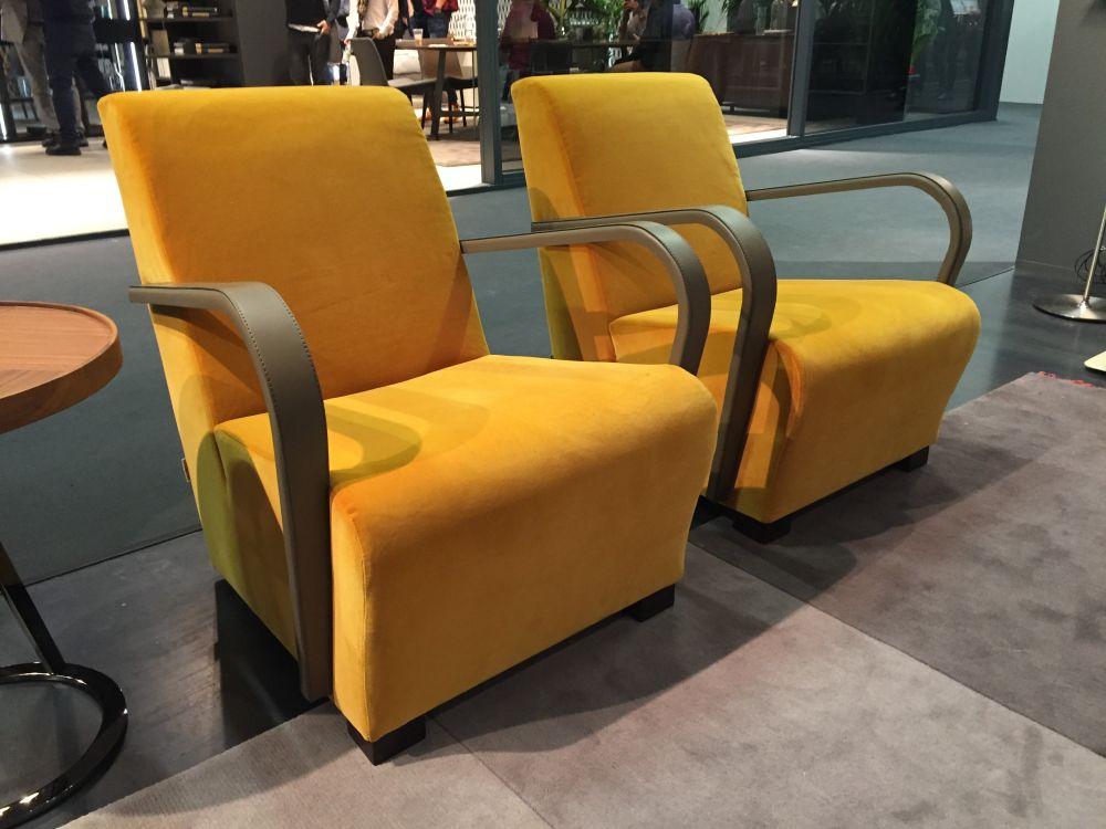 Yellow Mustard Armchairs