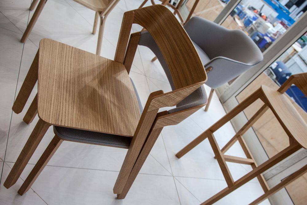 chair Merano Design from Ton