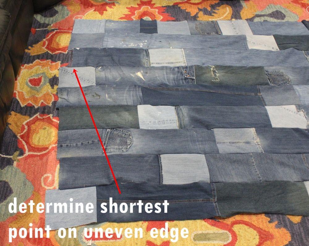 strip length along that edge