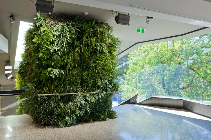 Adelaide Zoo Entrance Boasts Living Walls