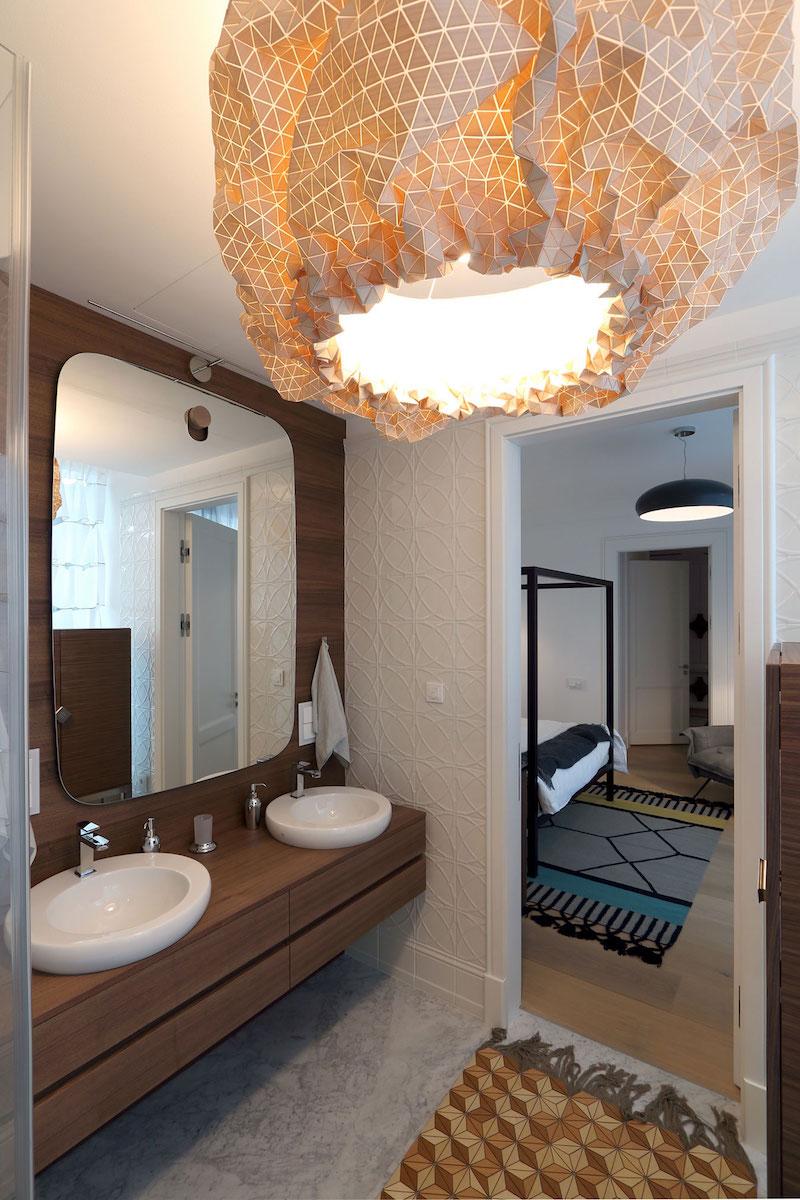 Apartment ST bathroom pendant lamp