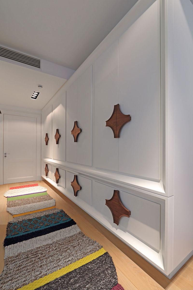 Apartment ST hallway storage unit