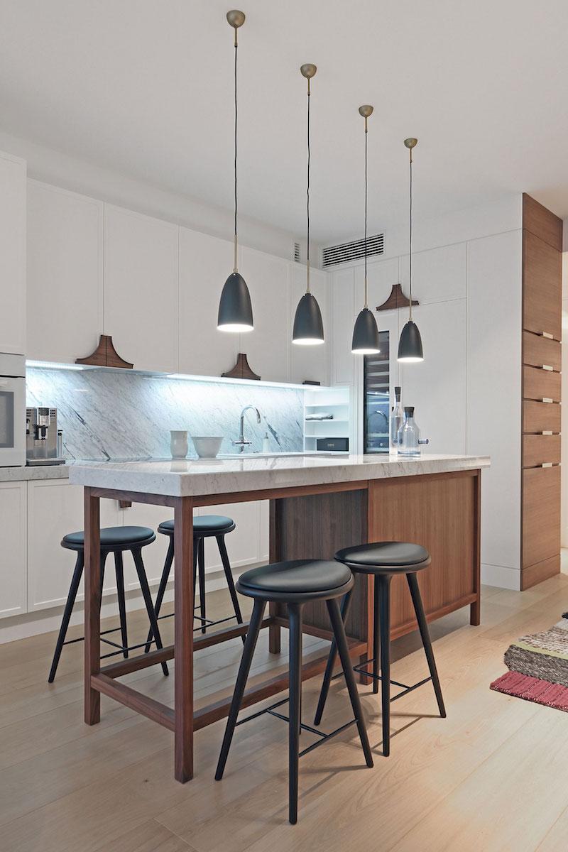 Apartment ST kitchen area