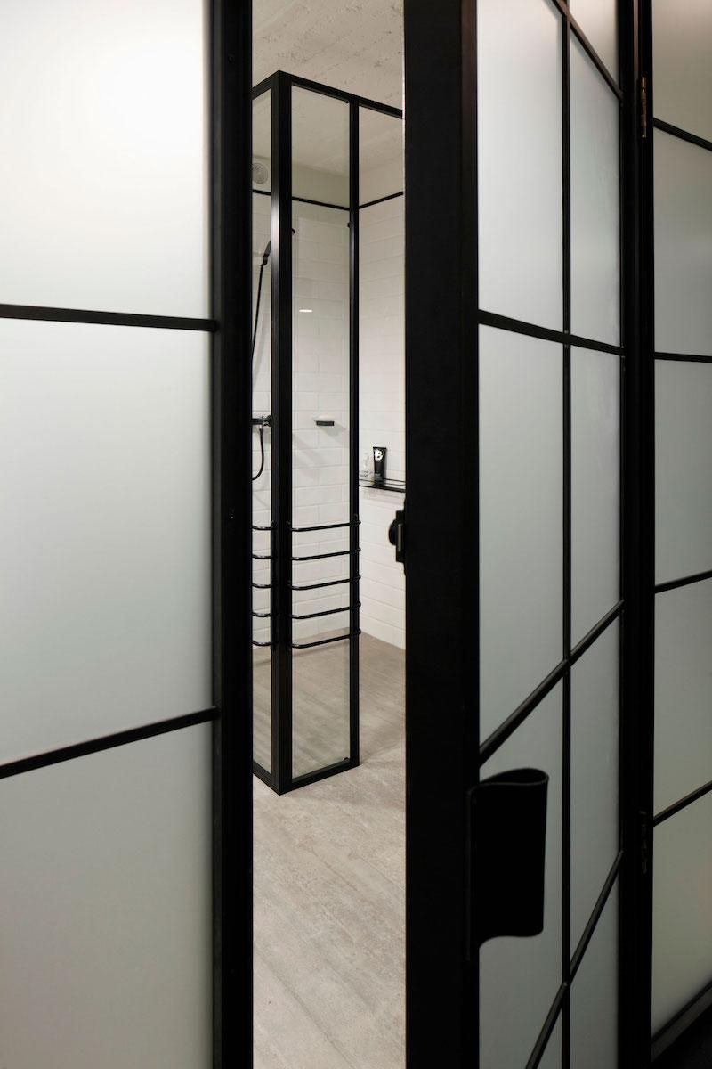 Apartment UV screen door
