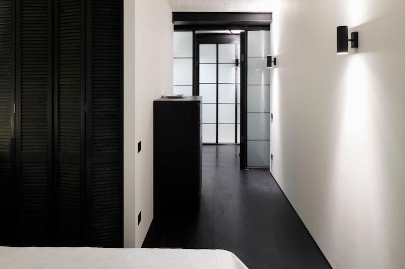 Apartment UV sliding doors