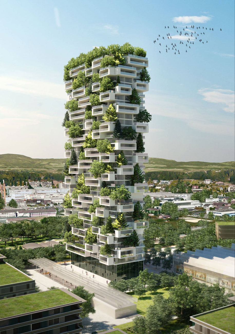 Bosco Verticale Apartments Building