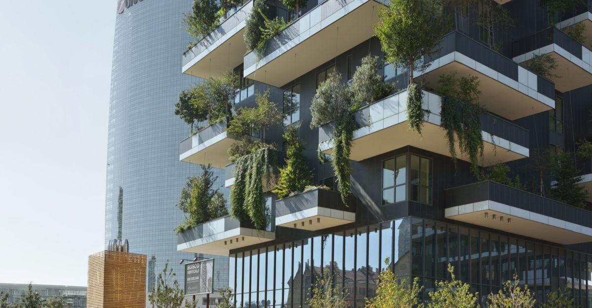 Bosco Verticale from Boeri Studio Balconies