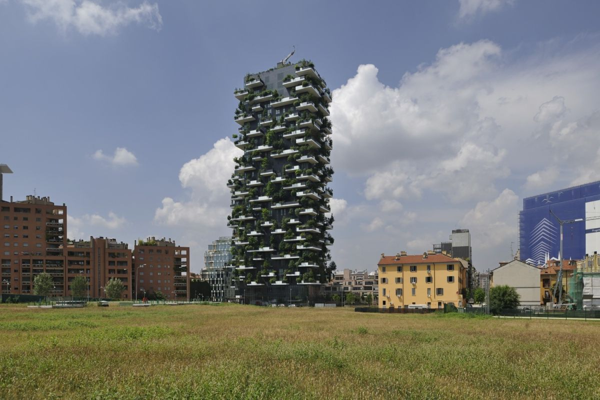 Bosco Verticale from Boeri Studio Landscape