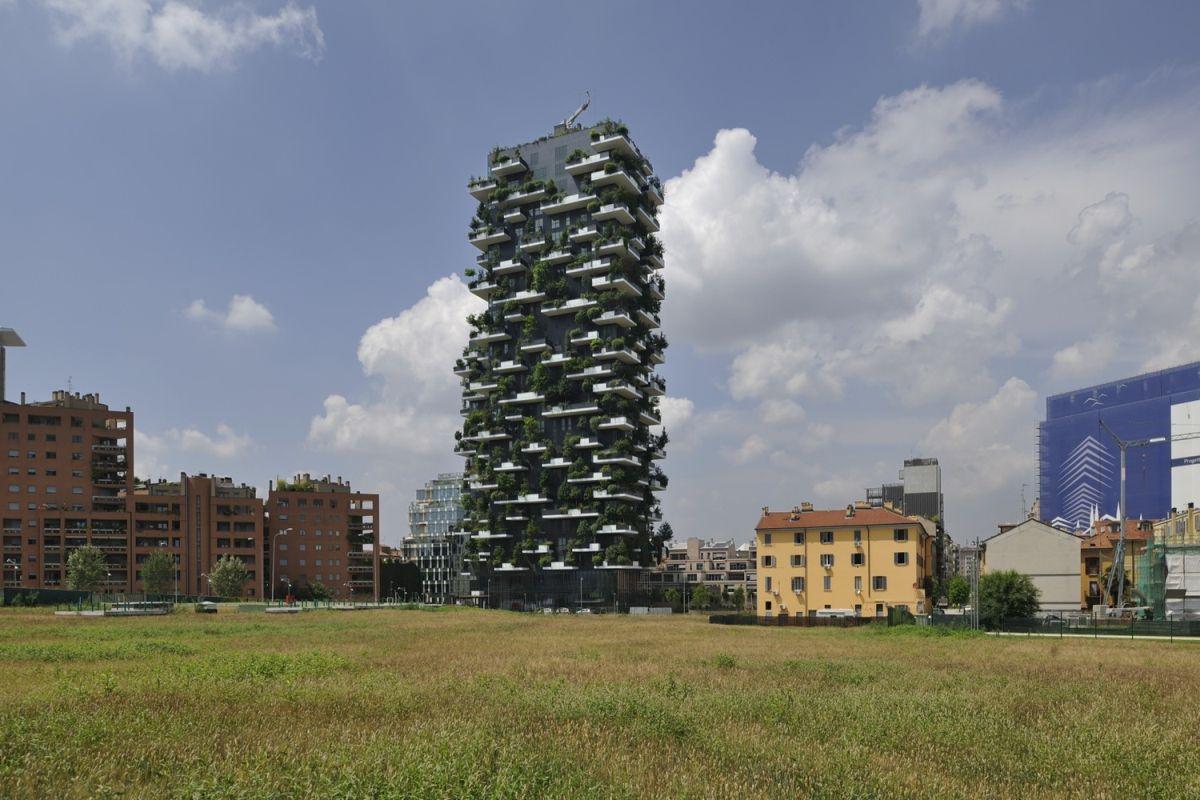 Bosco Verticale from Boeri Studio Landscape