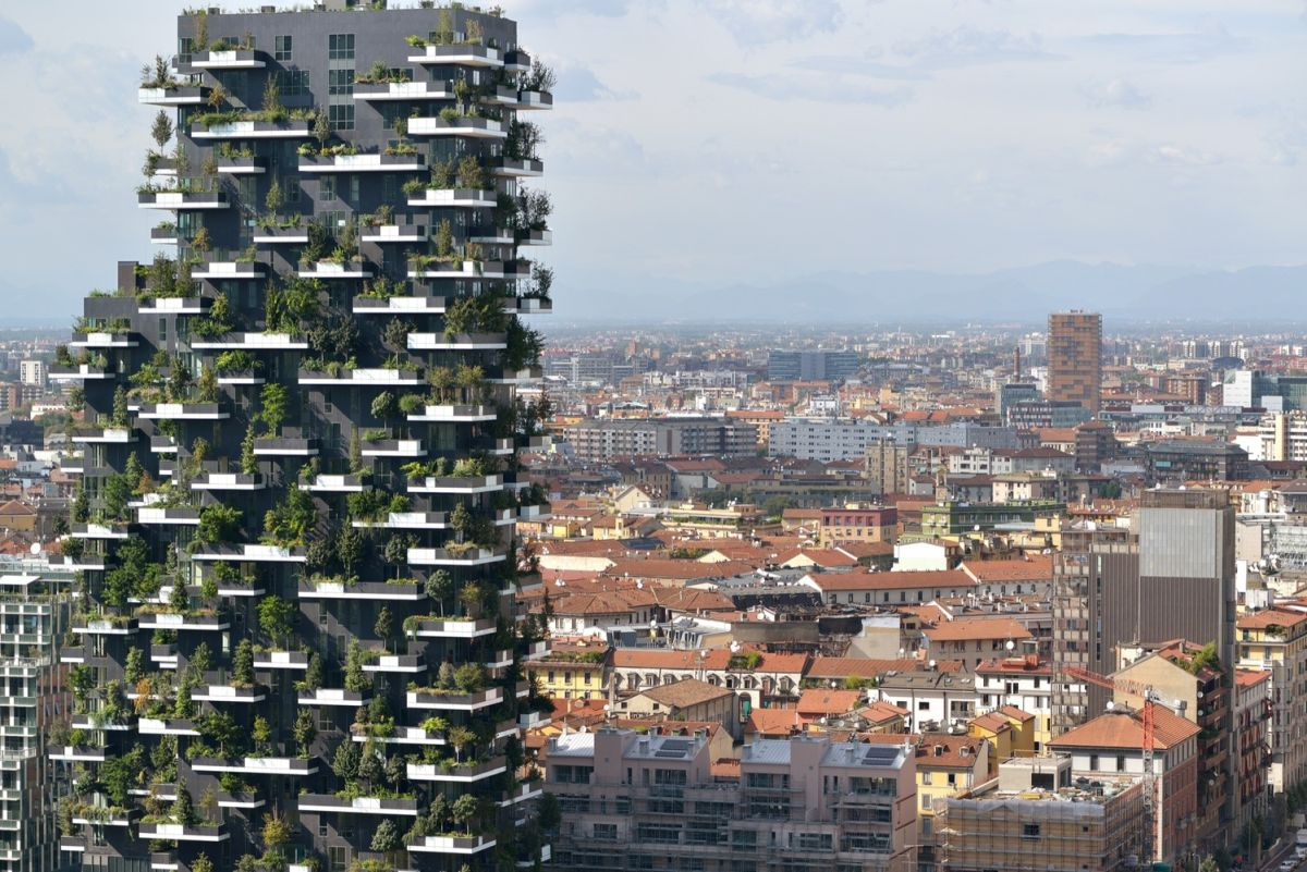 Bosco Verticale from Boeri Studio