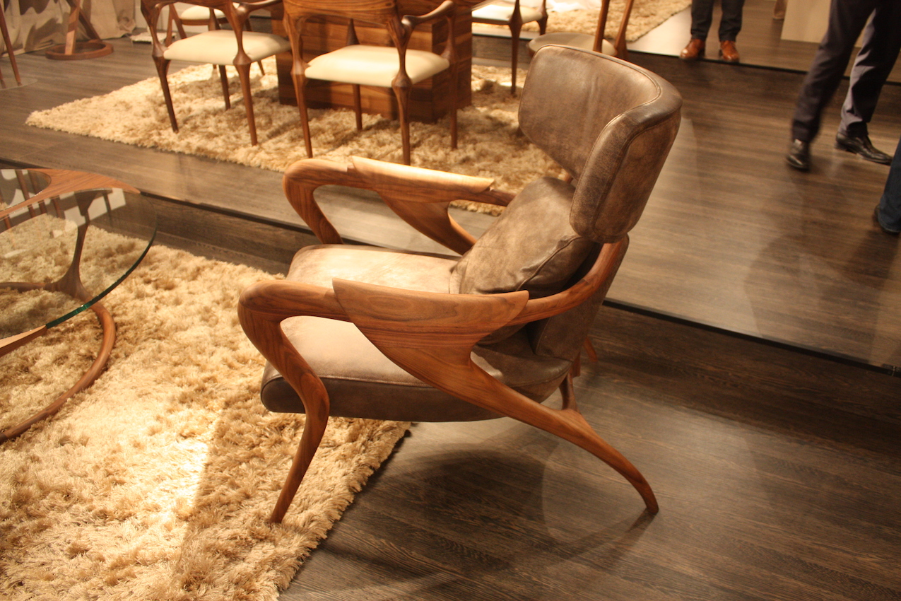 Camus Collection wood chair Isadora