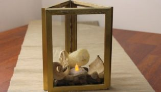 Cute Candle holder From Picture Frames