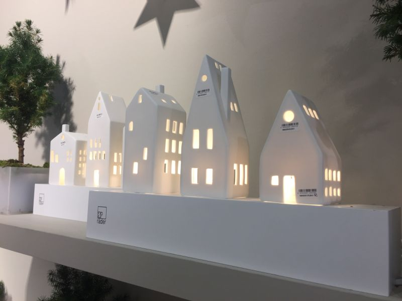 Christmas Decoration Ideas - White Houses