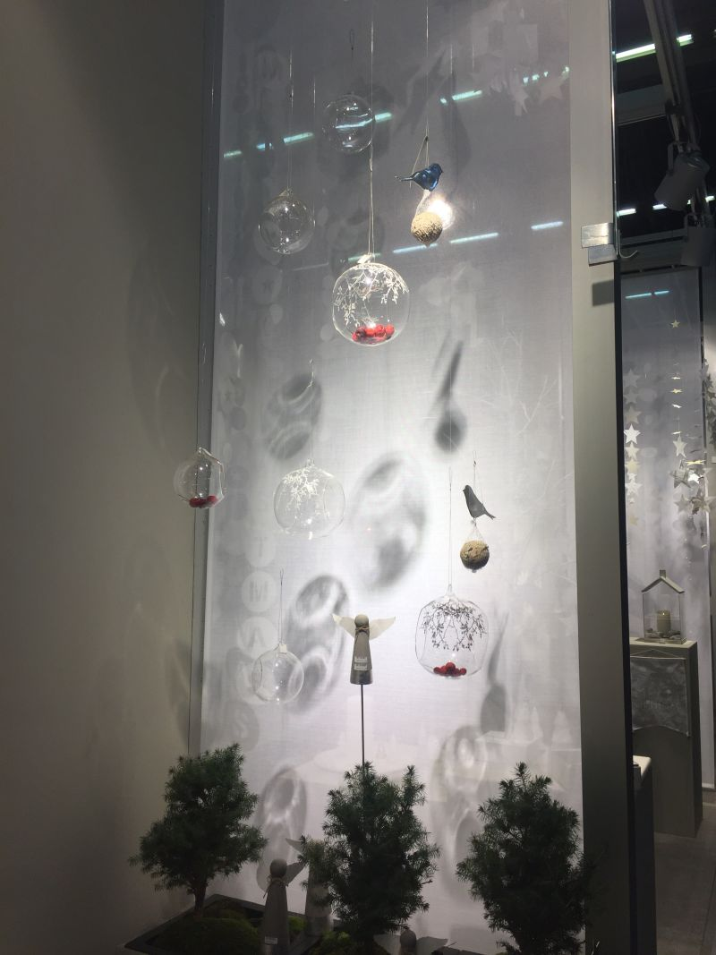 Christmas Decoration Ideas - hanging glass blown ornaments