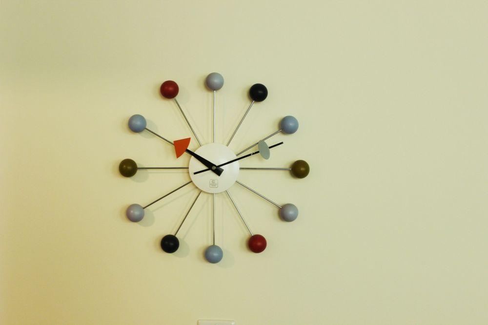 Colorful Vitra Wall Clock
