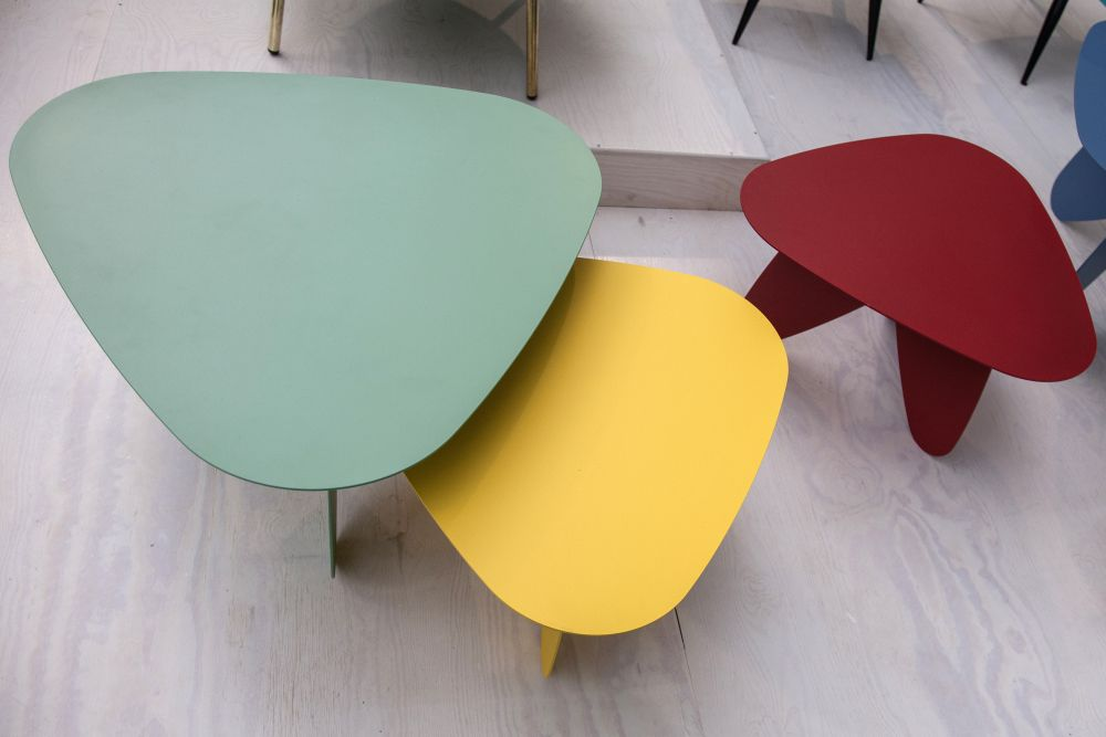 Colorful nesting tables