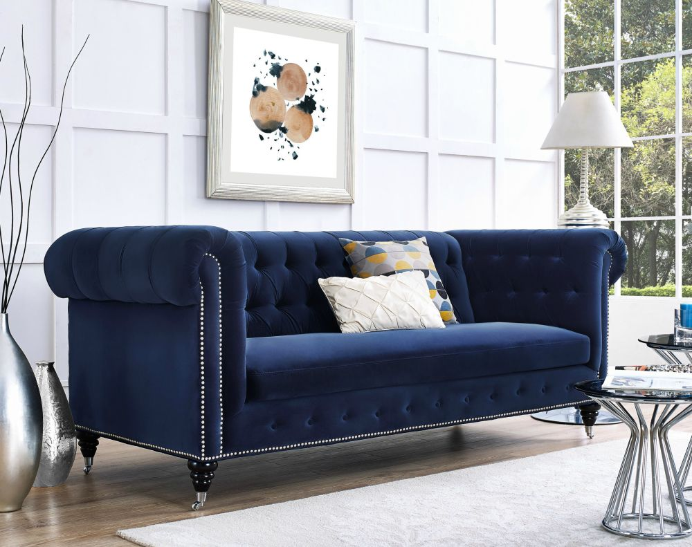 10 velvet sofas to put in your living room immediately. Black Bedroom Furniture Sets. Home Design Ideas