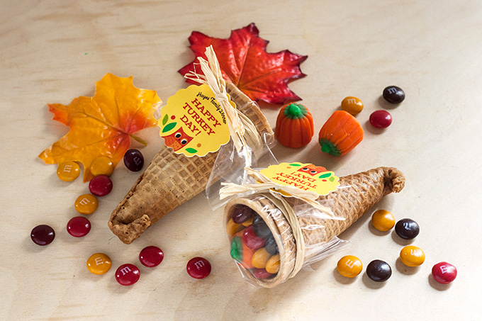 Fun favors for your thanksgiving shindig