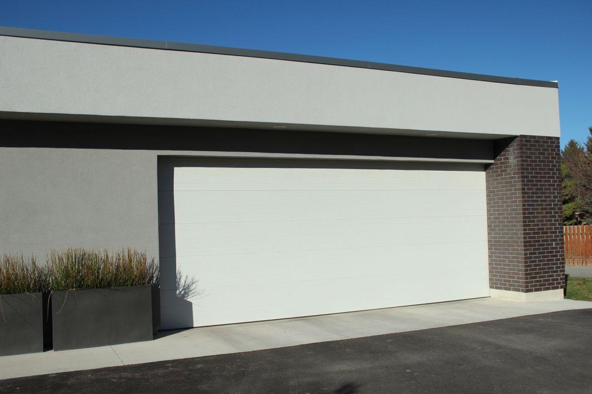 Curb Appeal Garage Driveway
